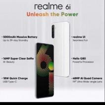 realme 6i smartphone (3GB+64GB) 1 Year Warranty