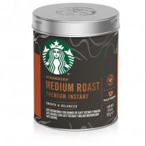 STARBUCKS Medium Roast Premium Instant Coffee, 90g Tin