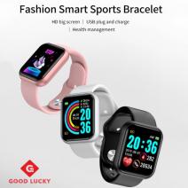 Smart Watch Jam Tangan Wanita Lelaki Sport Watch Fitness Tracker