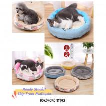 ⚡️Ready Stock ⚡️Round Pet Dog Cat Bed Extra Large Soft Warm Mat Mattress Pet Supplies