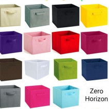 Foldable Non Woven Storage Box Home Office Bedroom Cosmetics Organizer