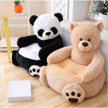 READY STOCK NOW ~Cartoon Lovely Animals Skin Cover Teddy Bear Panda Unicorn Duck Kids Sofa Chair Plush Toys Seat Baby