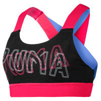 Feel It Bra M Puma Black-Nrgy Rose ( 51828907 )