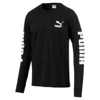 Classics Logo LS Tee Puma Black ( 59538601 )