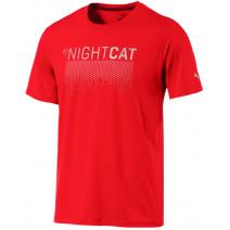 NightCat S S Tee Flame Scarlet (51649503)