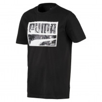 Rebel CAMO filled Tee Puma Black (58055201)