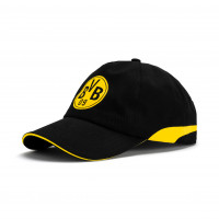 BVB Training Cap Puma Black-Cyber Yellow (02182602)