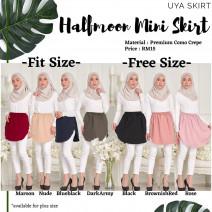 Halfmoon Mini Skirt