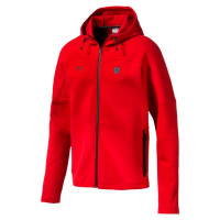 Ferrari Hooded Sweat Jacket Rosso Corsa ( 59540202 )
