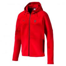 Ferrari Hooded Sweat Jacket Rosso Corsa ( 59540202 )