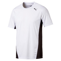 Cross the Line Tee Puma White-Puma Black ( 515100011 )