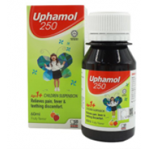 UPHAMOL 250MG FRUITY